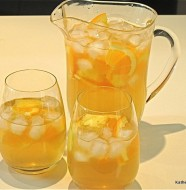 Orange Pineapple White Wine Sangria