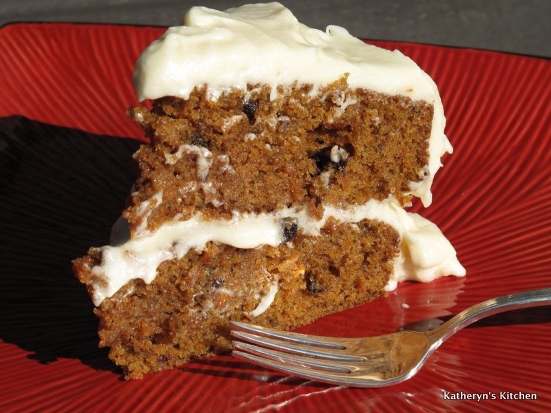 ... Kitchen – Classic Carrot Cake with Vanilla Cream Cheese Frosting