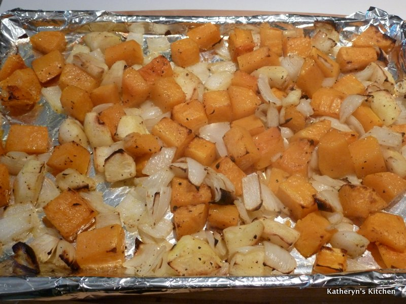 Vegetables Finished Roasting