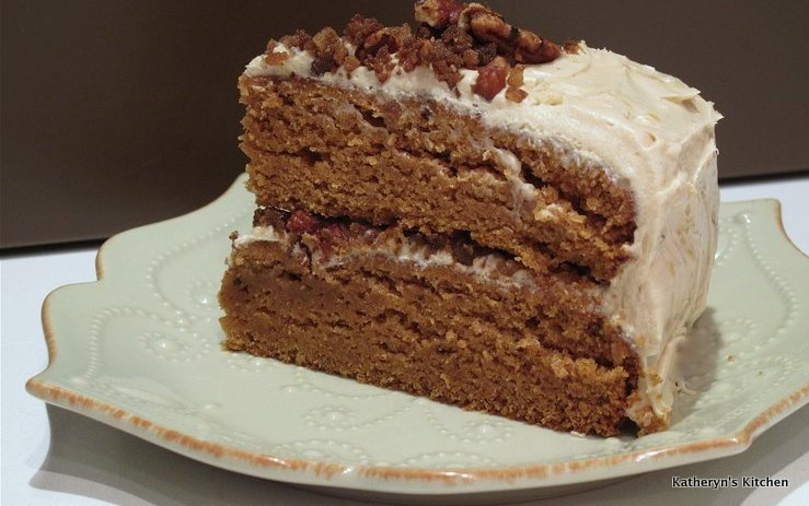 Katheryn's Kitchen – Brown Butter Pumpkin Layer Cake