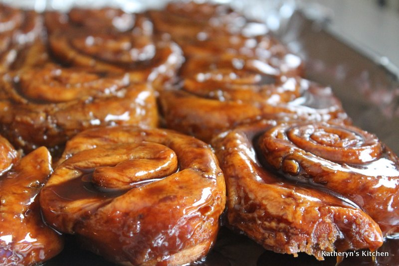Katheryn's Kitchen – Cinnamon Sticky Buns