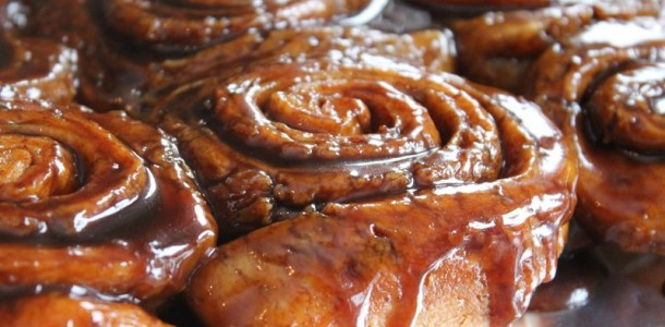 cinnamon sticky buns i made these sticky buns this weekend with my ...