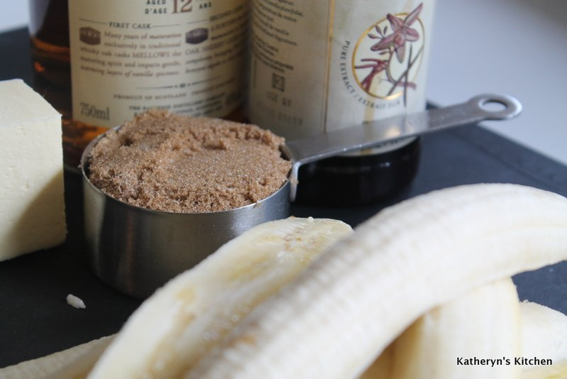 Banana Tarte Ingredients