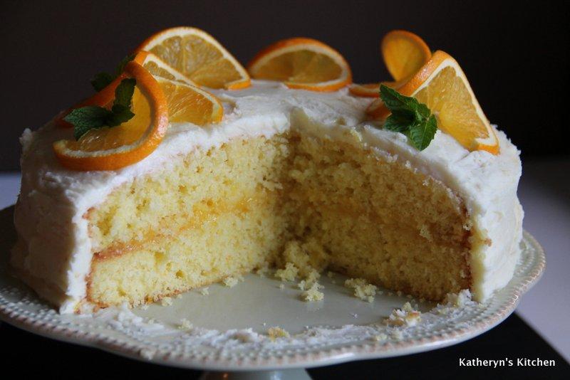Katheryn's Kitchen – Orange Layer Cake
