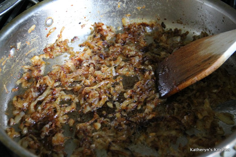 Onions Finished Caramelizing