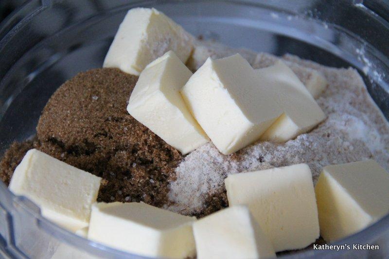 Cookie Ingredients in Food Processor