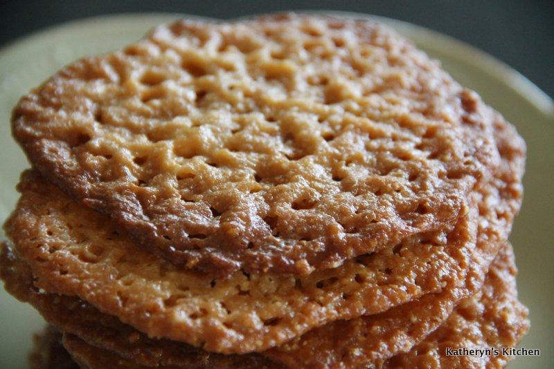 Meyer Lemon Lace Cookies