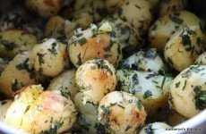Baby Potatoes Sauteed in Fresh Herbs and Butter