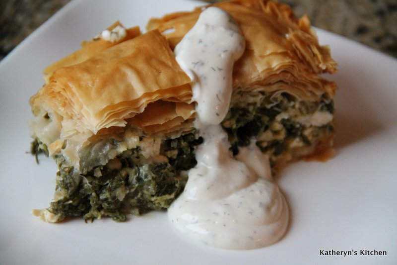 Baked Spinach and Feta Pie