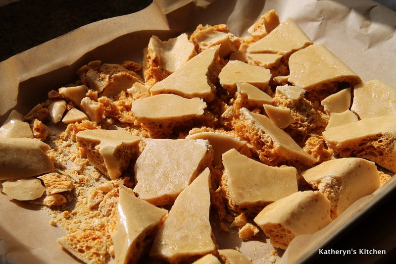 Shattered Honeycomb Toffee